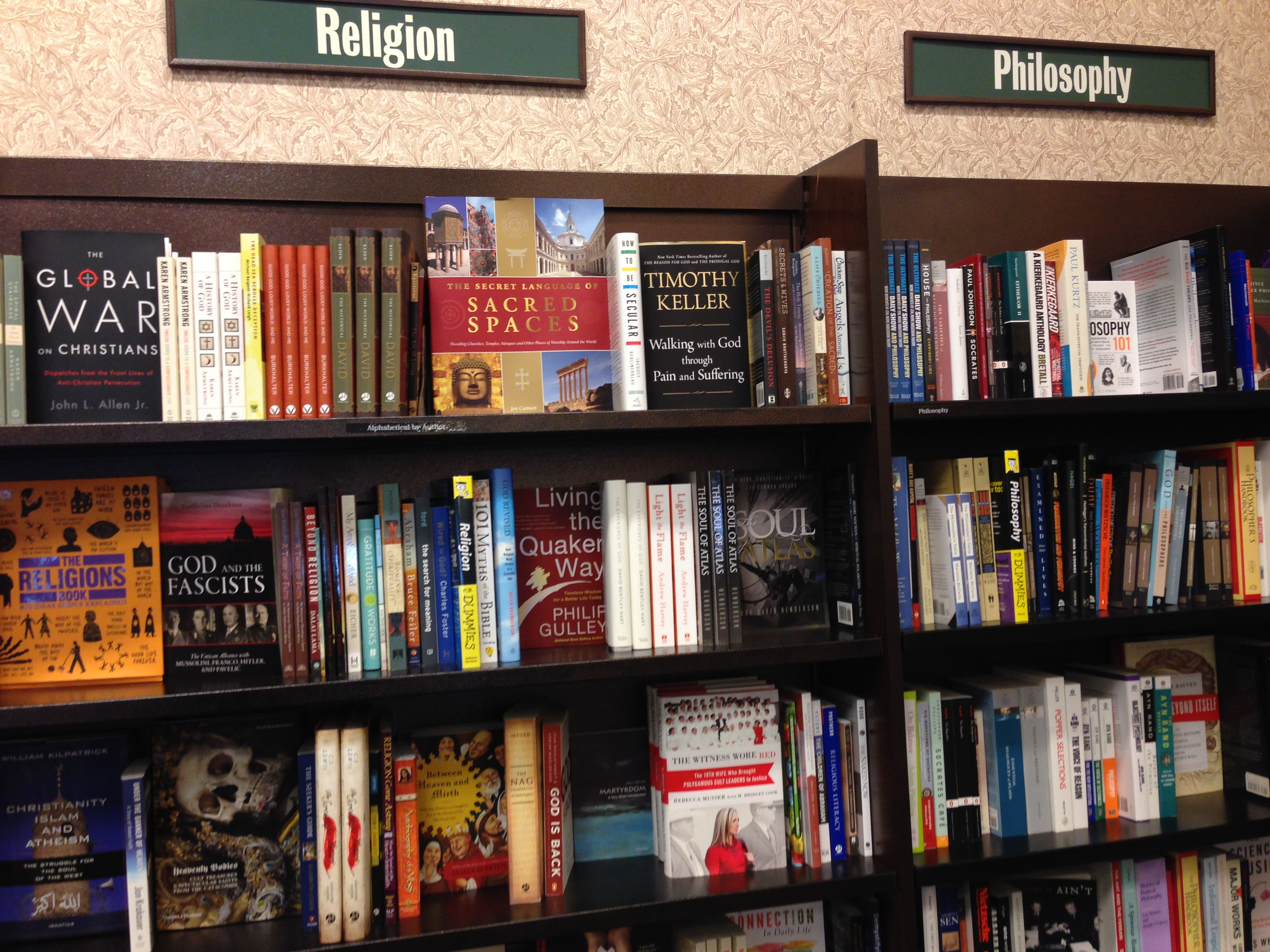 Look at what I saw at Barnes Noble yesterday The Soul of Atlas
