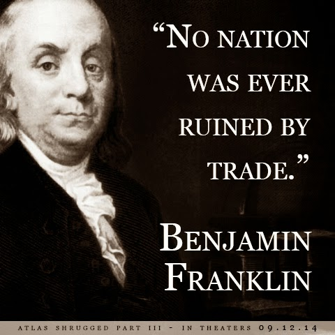 No nation was ever ruined by trade
